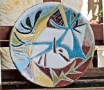 Piatto in ceramica